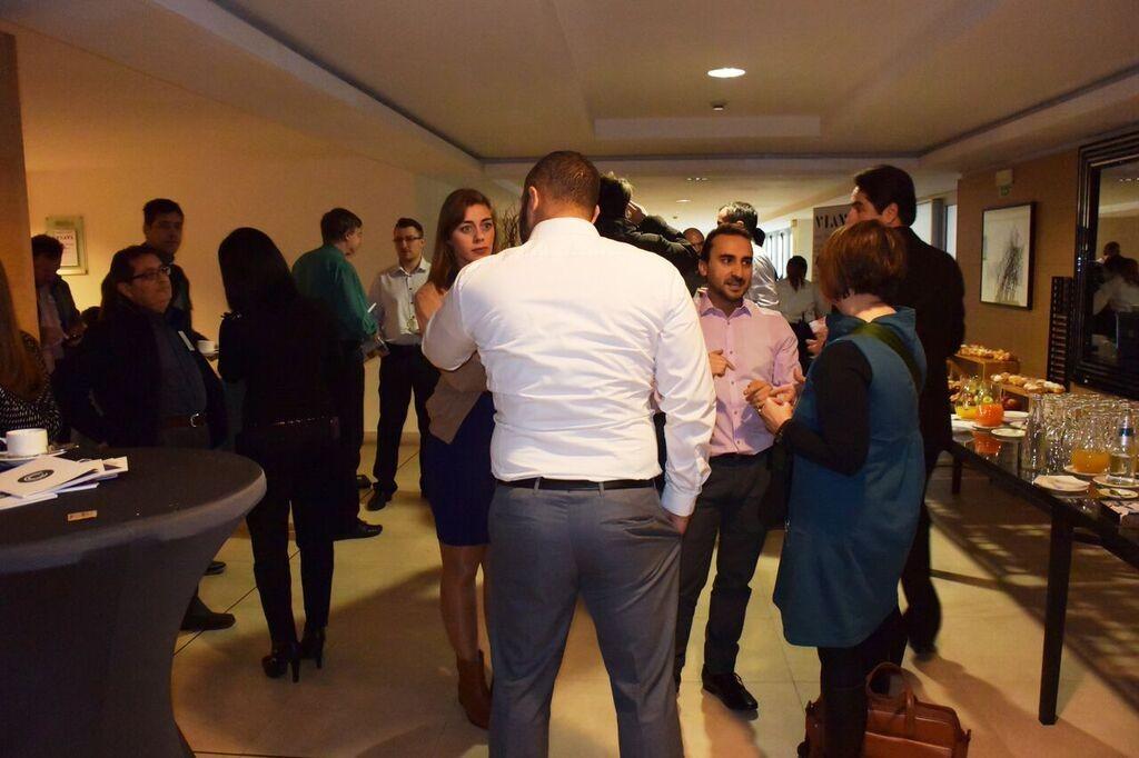 EMEA Rome - reception