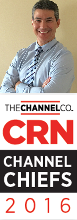 Sergio and CRN Channel Chiefs Graphic