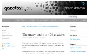 Gazettabyte