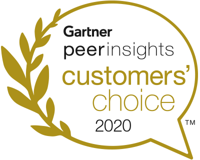 Customers' Choice 2020 logo